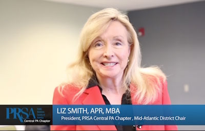 A Message from Liz Smith, APR, MBA