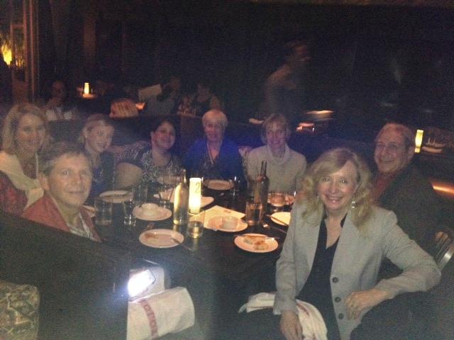 Dinner with PRSA Mid-Atlantic District members in Atlanta